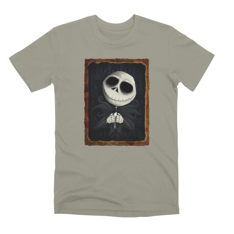 i am the pumpkin king! Men's Premium T-Shirt by the twisted world of godriguezart