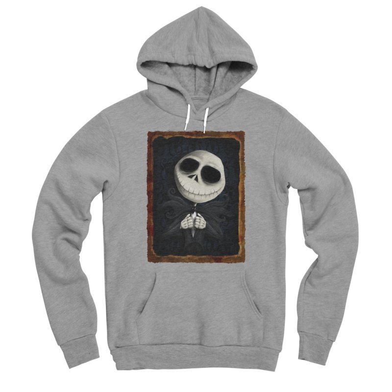 i am the pumpkin king! Men's Sponge Fleece Pullover Hoody by the twisted world of godriguezart