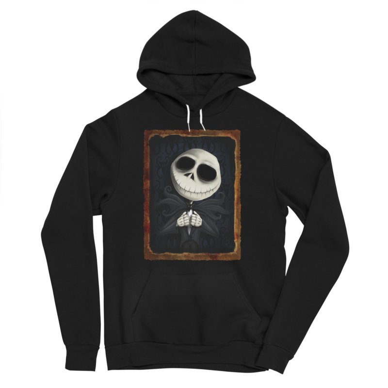 i am the pumpkin king! Women's Sponge Fleece Pullover Hoody by the twisted world of godriguezart