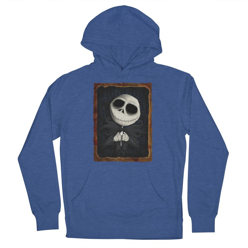 i am the pumpkin king! Women's French Terry Pullover Hoody by the twisted world of godriguezart