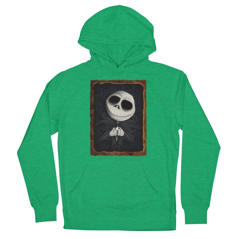 i am the pumpkin king! Men's French Terry Pullover Hoody by the twisted world of godriguezart