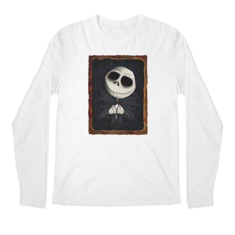 i am the pumpkin king! Men's Regular Longsleeve T-Shirt by the twisted world of godriguezart