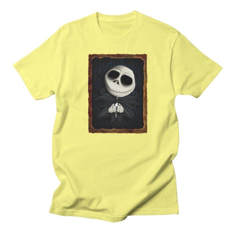 i am the pumpkin king! Women's Regular Unisex T-Shirt by the twisted world of godriguezart