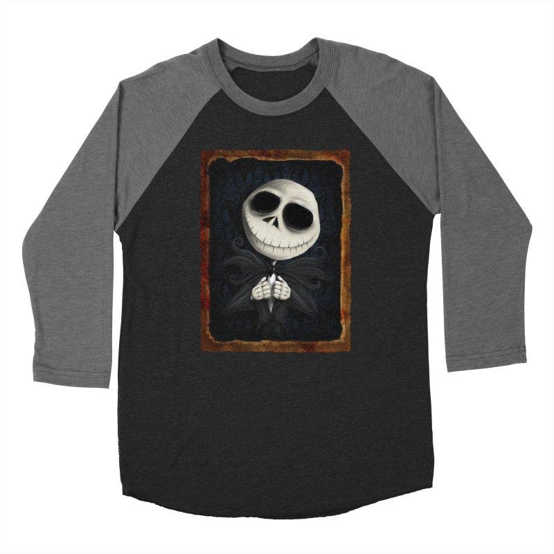 i am the pumpkin king! Men's Baseball Triblend Longsleeve T-Shirt by the twisted world of godriguezart
