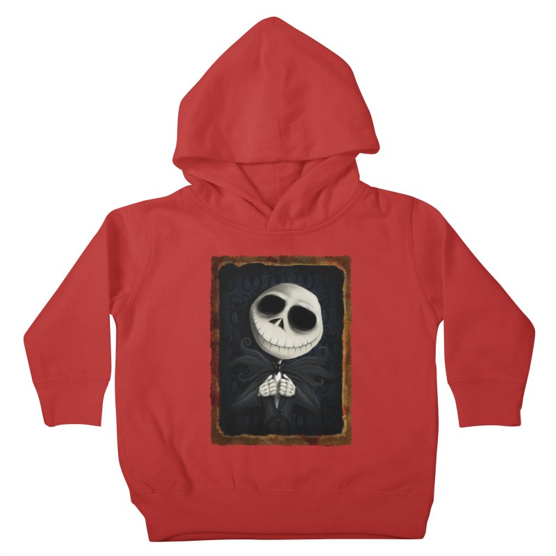 i am the pumpkin king! Kids Toddler Pullover Hoody by the twisted world of godriguezart