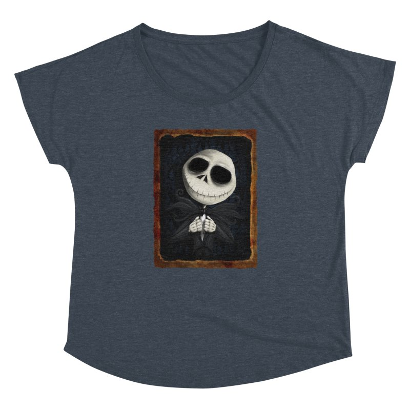 i am the pumpkin king! Women's Dolman Scoop Neck by the twisted world of godriguezart