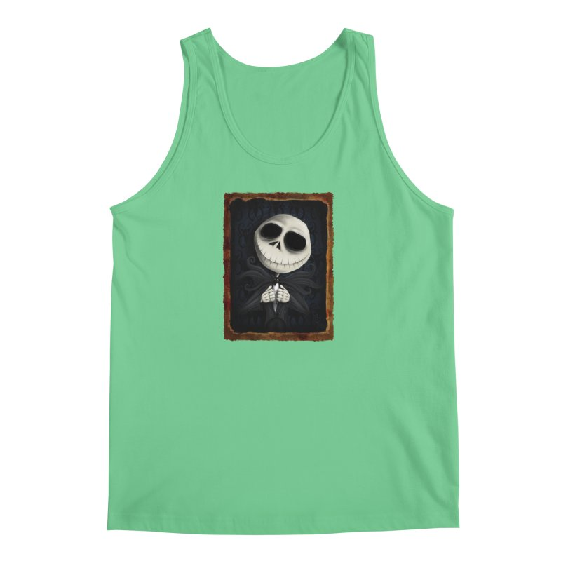 i am the pumpkin king! Men's Regular Tank by the twisted world of godriguezart