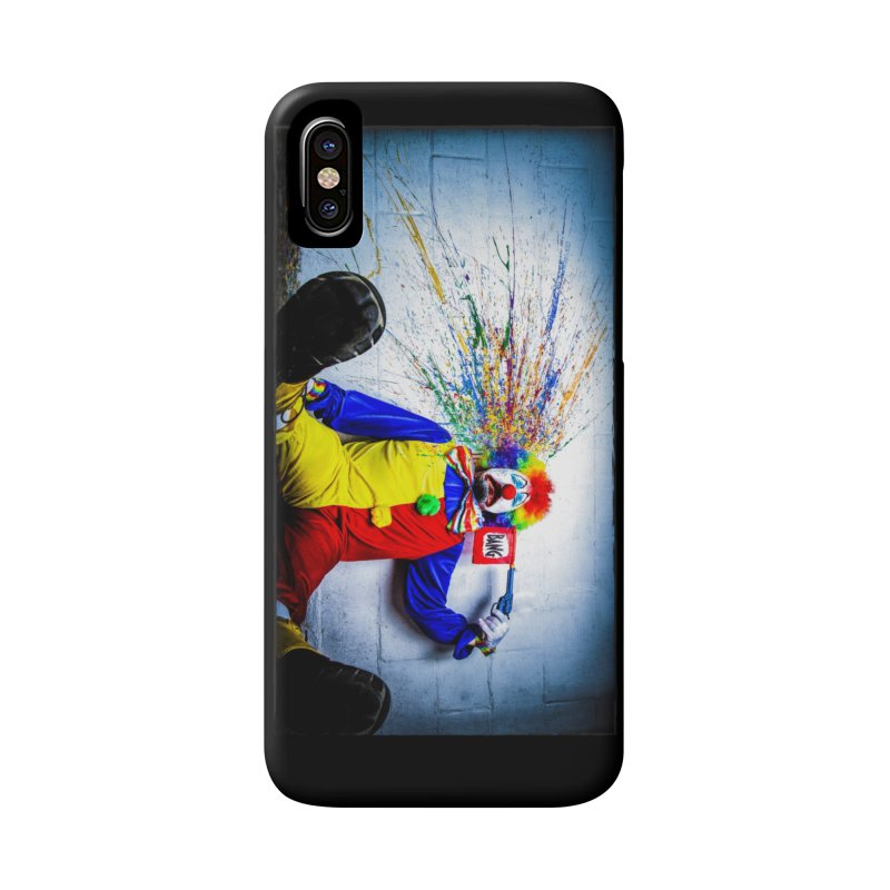 tears of a clown Accessories Phone Case by the twisted world of godriguezart