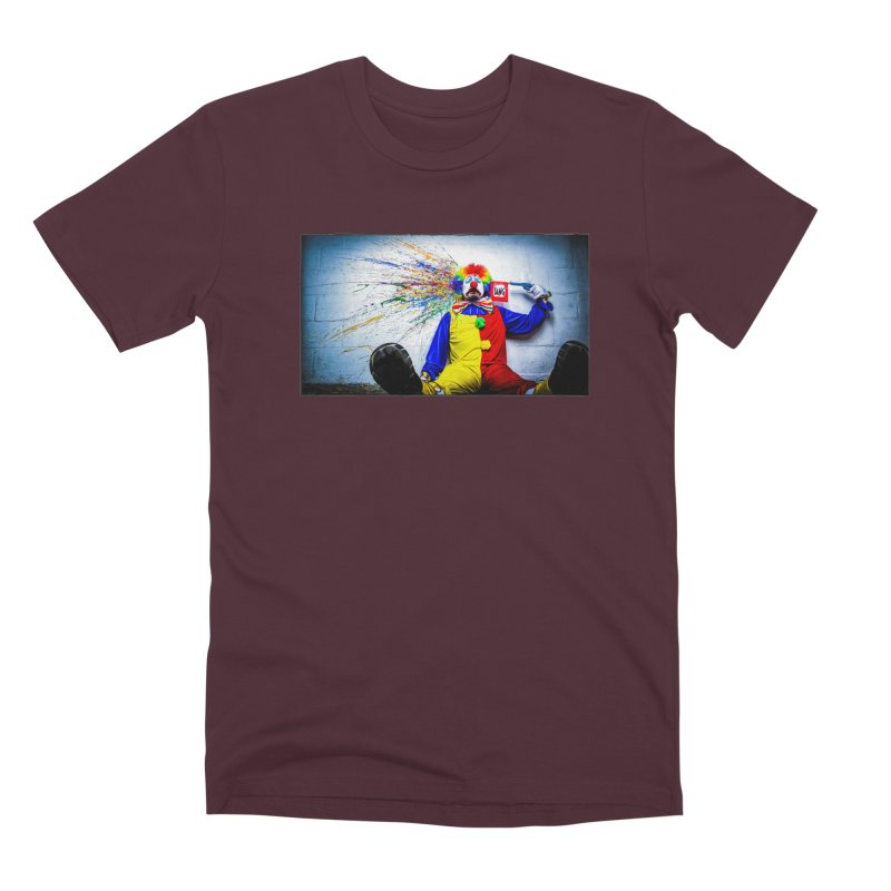 tears of a clown Men's Premium T-Shirt by the twisted world of godriguezart