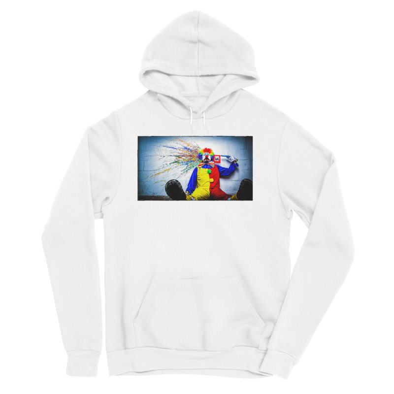 tears of a clown Women's Sponge Fleece Pullover Hoody by the twisted world of godriguezart