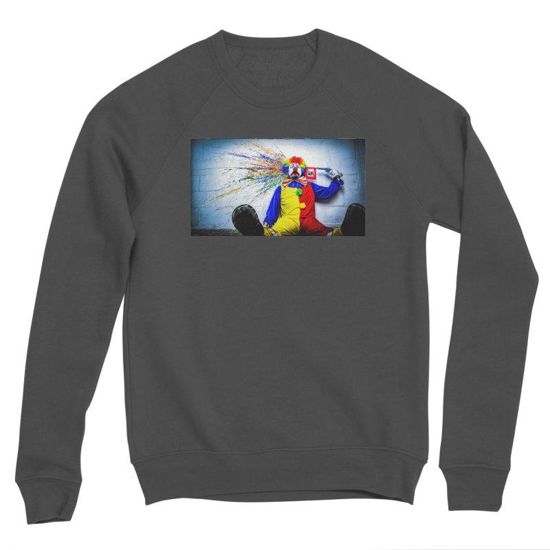 tears of a clown Men's Sponge Fleece Sweatshirt by the twisted world of godriguezart