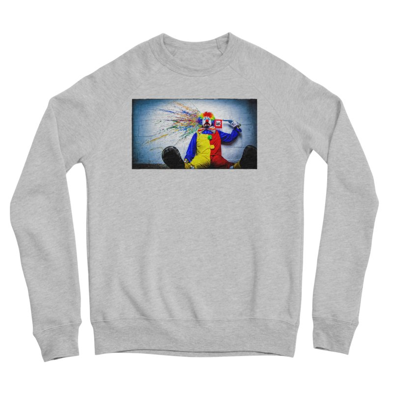 tears of a clown Men's Sponge Fleece Sweatshirt by the twisted world of godriguezart