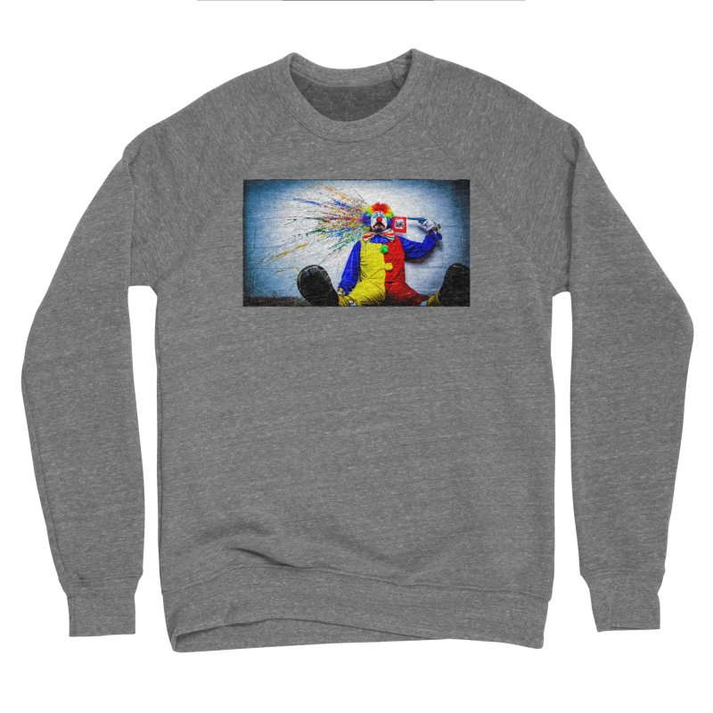 tears of a clown Women's Sponge Fleece Sweatshirt by the twisted world of godriguezart