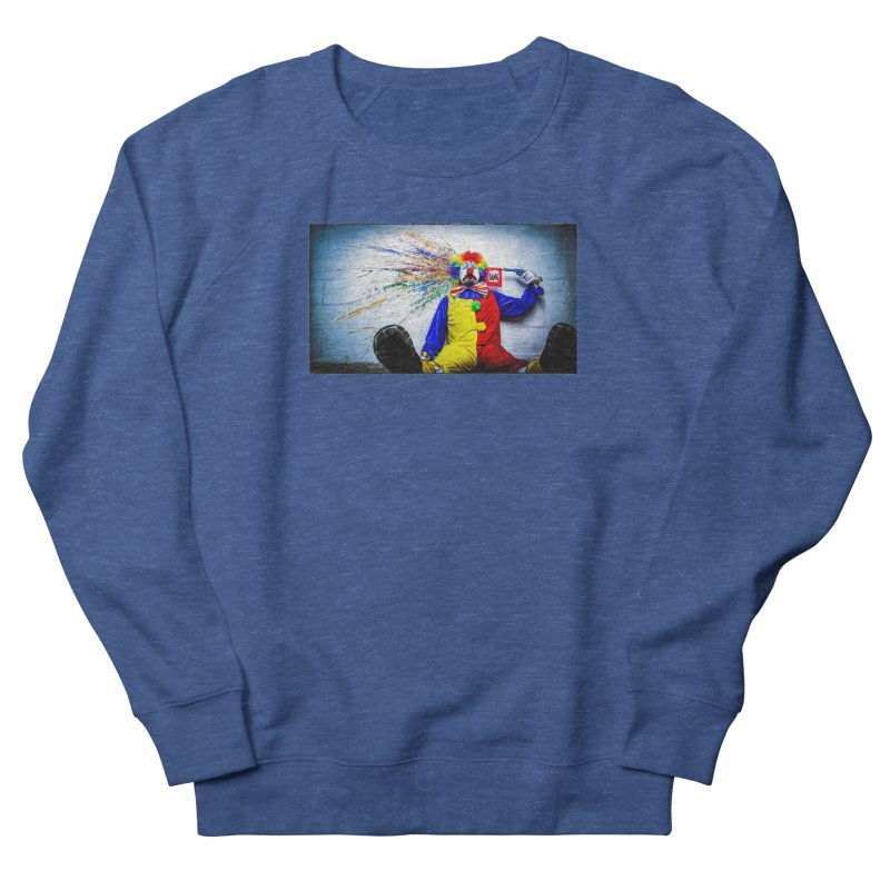 tears of a clown Men's Sweatshirt by the twisted world of godriguezart