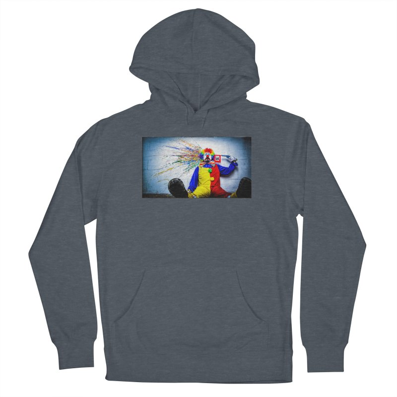 tears of a clown Women's French Terry Pullover Hoody by the twisted world of godriguezart