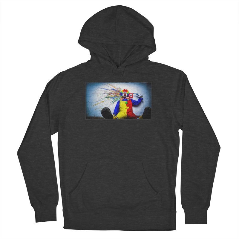 tears of a clown Men's French Terry Pullover Hoody by the twisted world of godriguezart