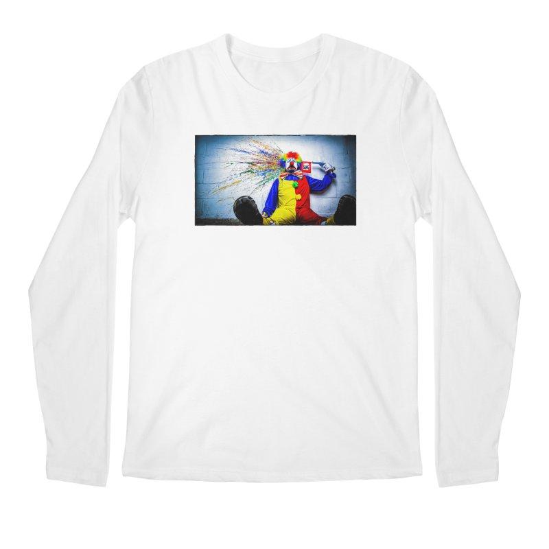tears of a clown Men's Regular Longsleeve T-Shirt by the twisted world of godriguezart