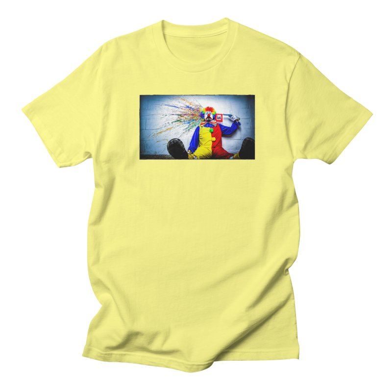 tears of a clown Women's Regular Unisex T-Shirt by the twisted world of godriguezart