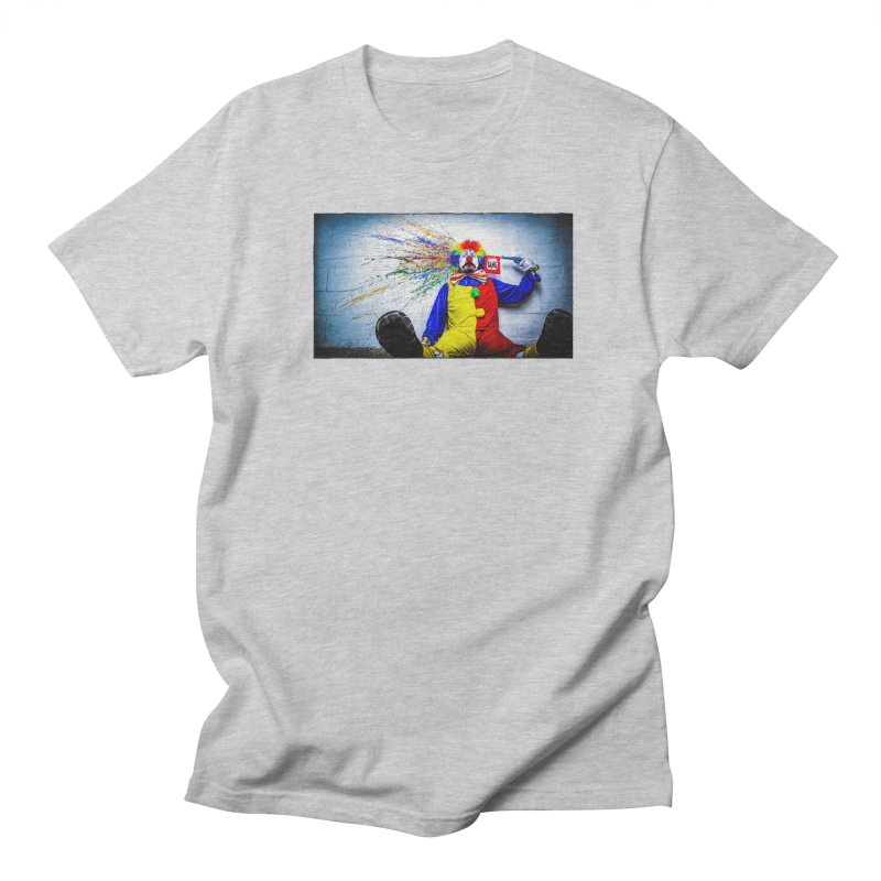 tears of a clown Men's T-Shirt by the twisted world of godriguezart