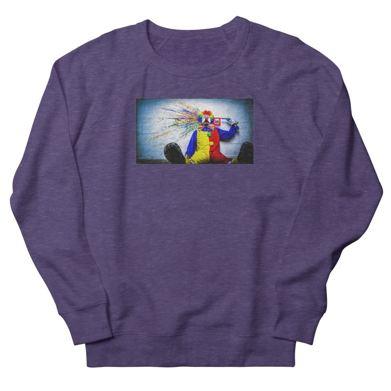 tears of a clown Women's French Terry Sweatshirt by the twisted world of godriguezart