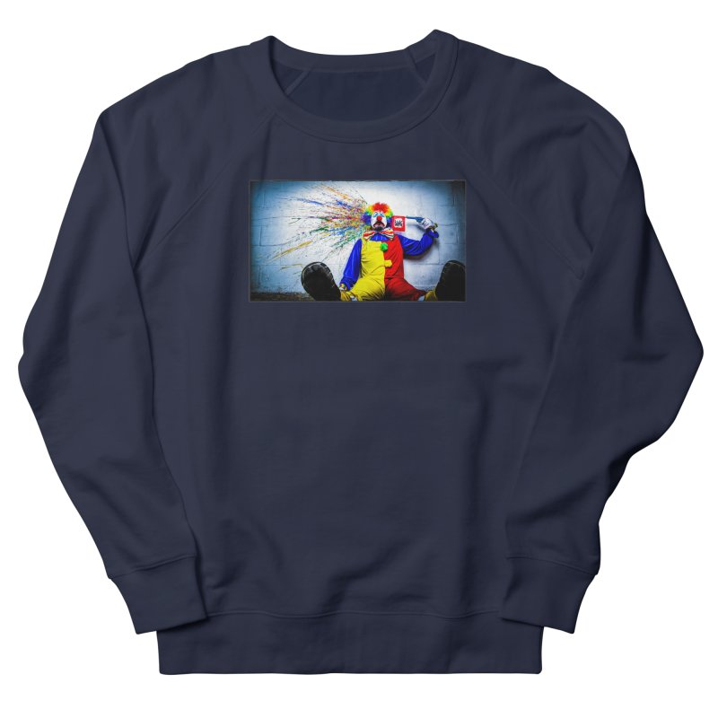 tears of a clown Men's French Terry Sweatshirt by the twisted world of godriguezart