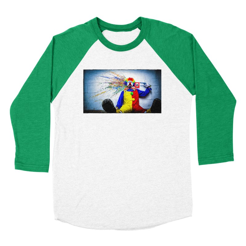 tears of a clown Men's Baseball Triblend Longsleeve T-Shirt by the twisted world of godriguezart