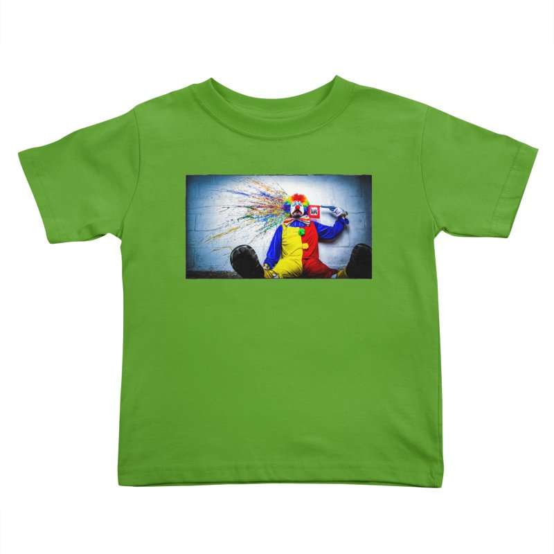 tears of a clown Kids Toddler T-Shirt by the twisted world of godriguezart