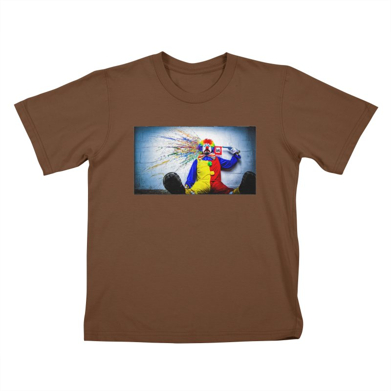tears of a clown Kids T-Shirt by the twisted world of godriguezart