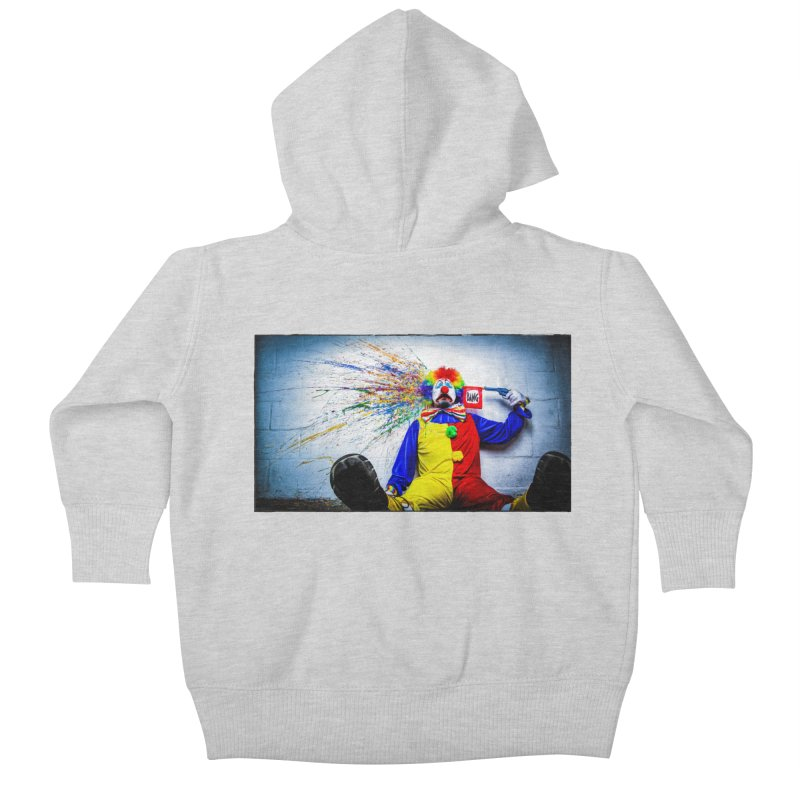 tears of a clown Kids Baby Zip-Up Hoody by the twisted world of godriguezart