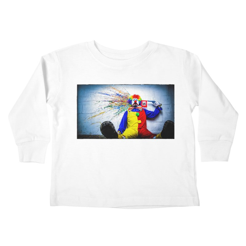 tears of a clown Kids Toddler Longsleeve T-Shirt by the twisted world of godriguezart
