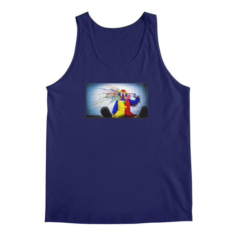 tears of a clown Men's Regular Tank by the twisted world of godriguezart