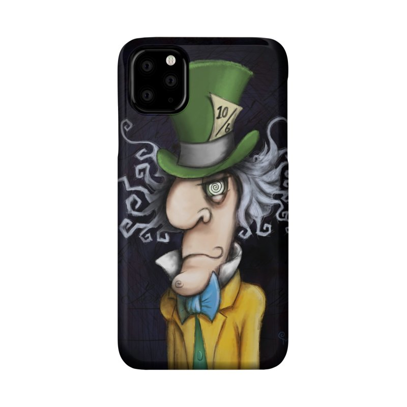 we're all mad here! Accessories Phone Case by the twisted world of godriguezart