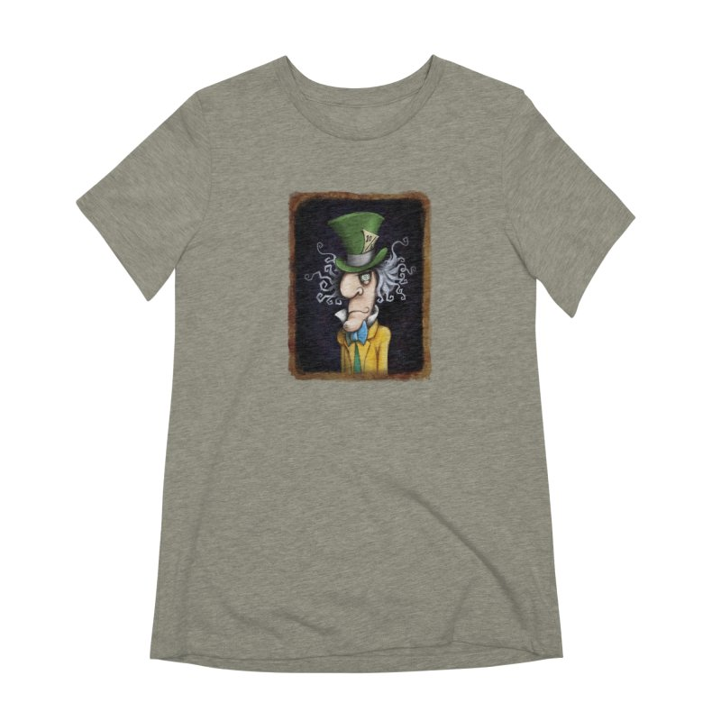 we're all mad here! Women's Extra Soft T-Shirt by the twisted world of godriguezart