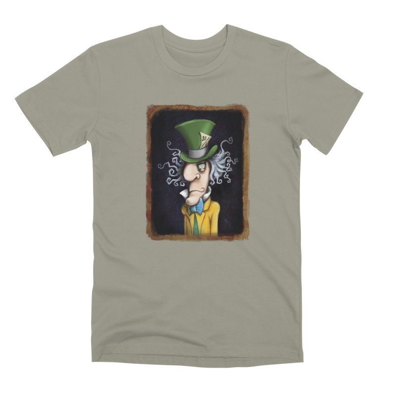 we're all mad here! Men's Premium T-Shirt by the twisted world of godriguezart