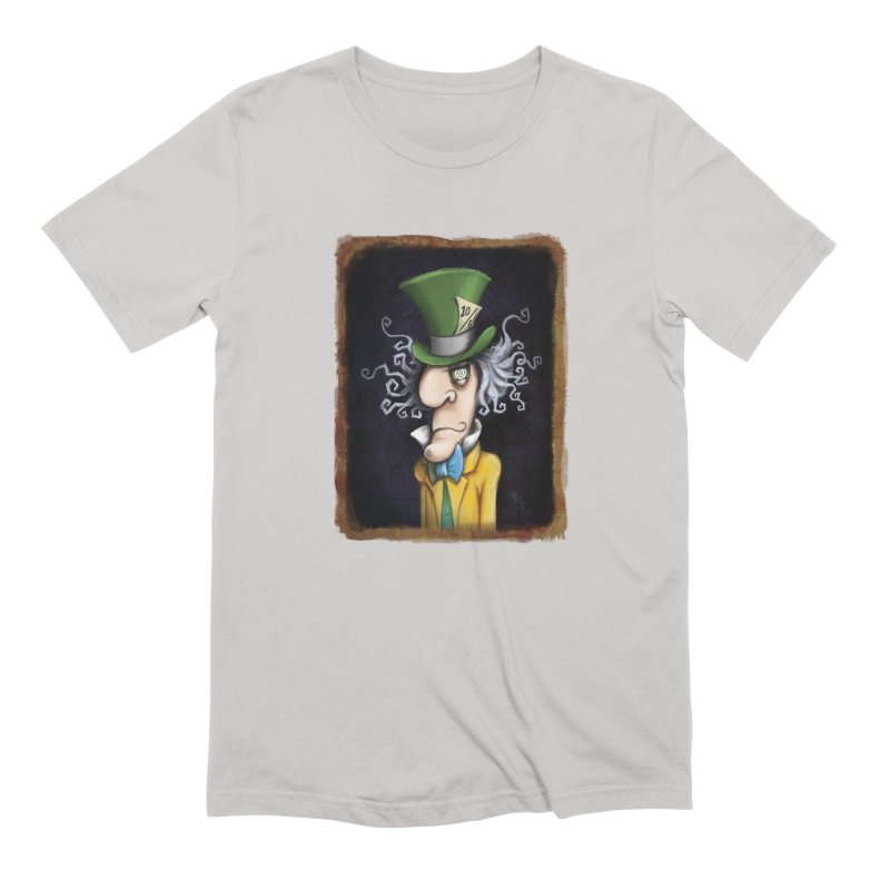 we're all mad here! Men's Extra Soft T-Shirt by the twisted world of godriguezart