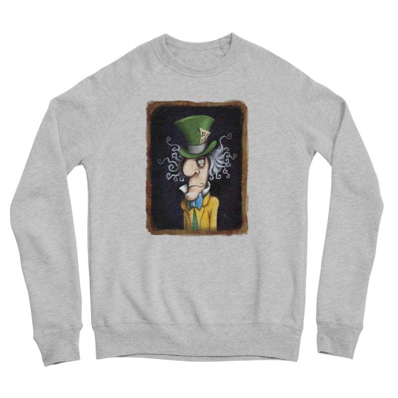 we're all mad here! Men's Sponge Fleece Sweatshirt by the twisted world of godriguezart