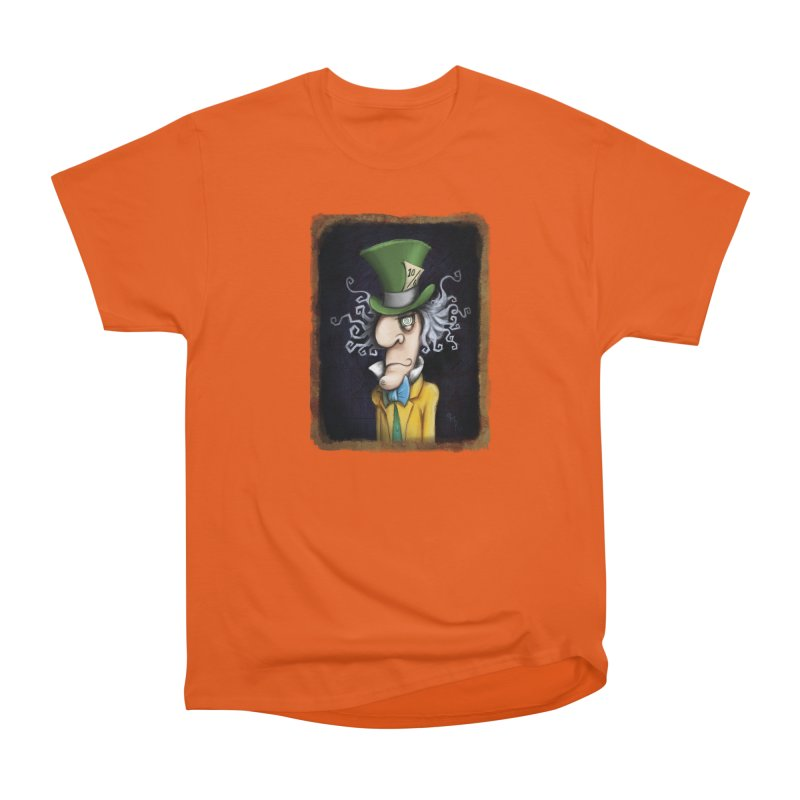 we're all mad here! Men's T-Shirt by the twisted world of godriguezart