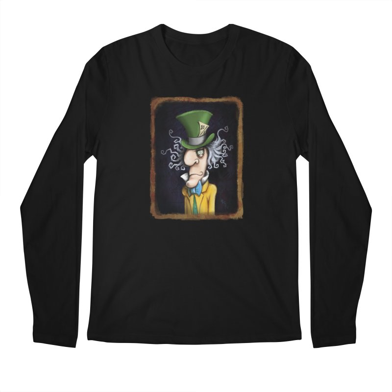 we're all mad here! Men's Regular Longsleeve T-Shirt by the twisted world of godriguezart