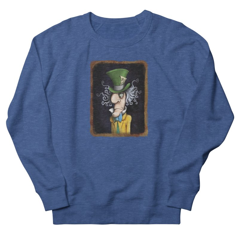 we're all mad here! Men's Sweatshirt by the twisted world of godriguezart