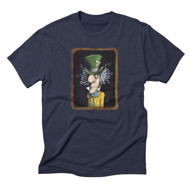 we're all mad here! Men's Triblend T-Shirt by the twisted world of godriguezart