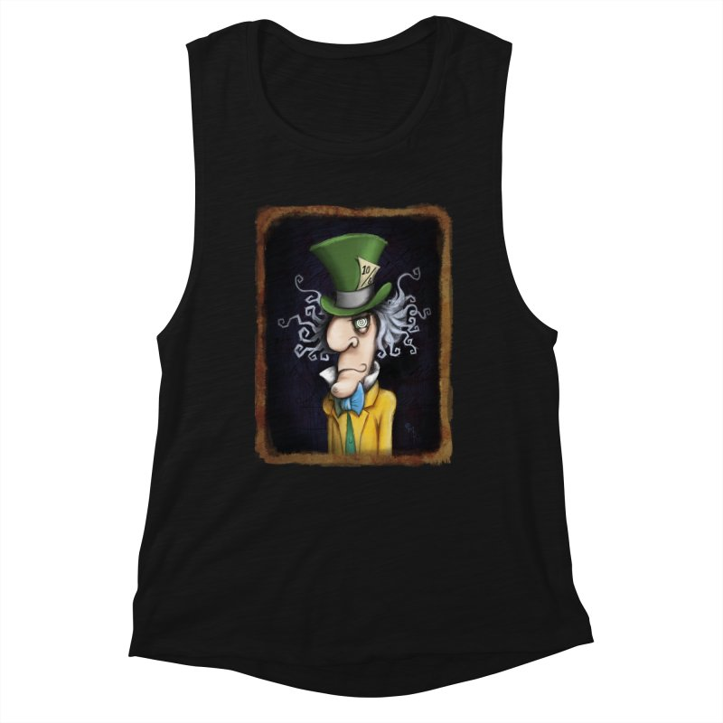 we're all mad here! Women's Tank by the twisted world of godriguezart
