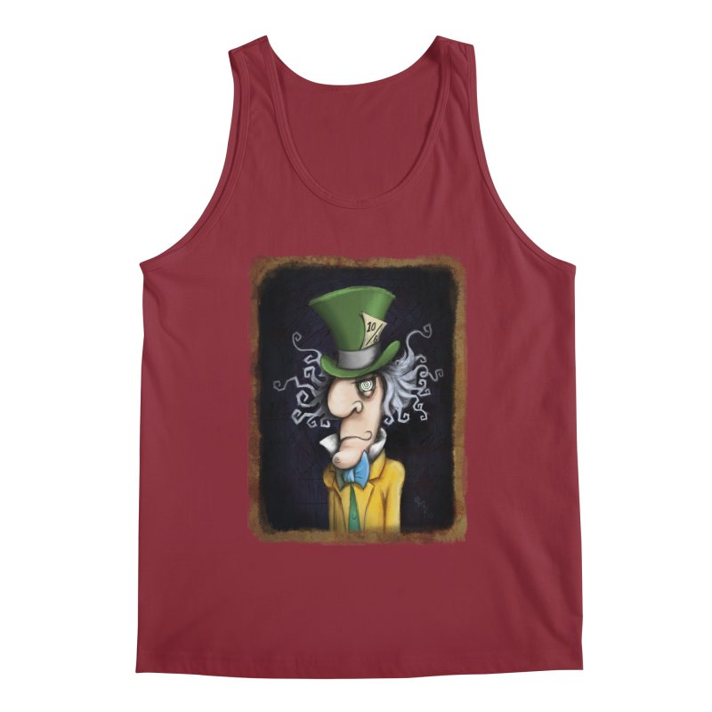 we're all mad here! Men's Tank by the twisted world of godriguezart