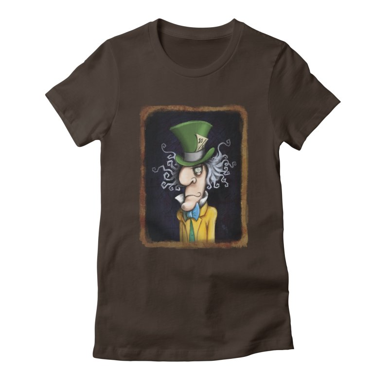 we're all mad here! Women's T-Shirt by the twisted world of godriguezart