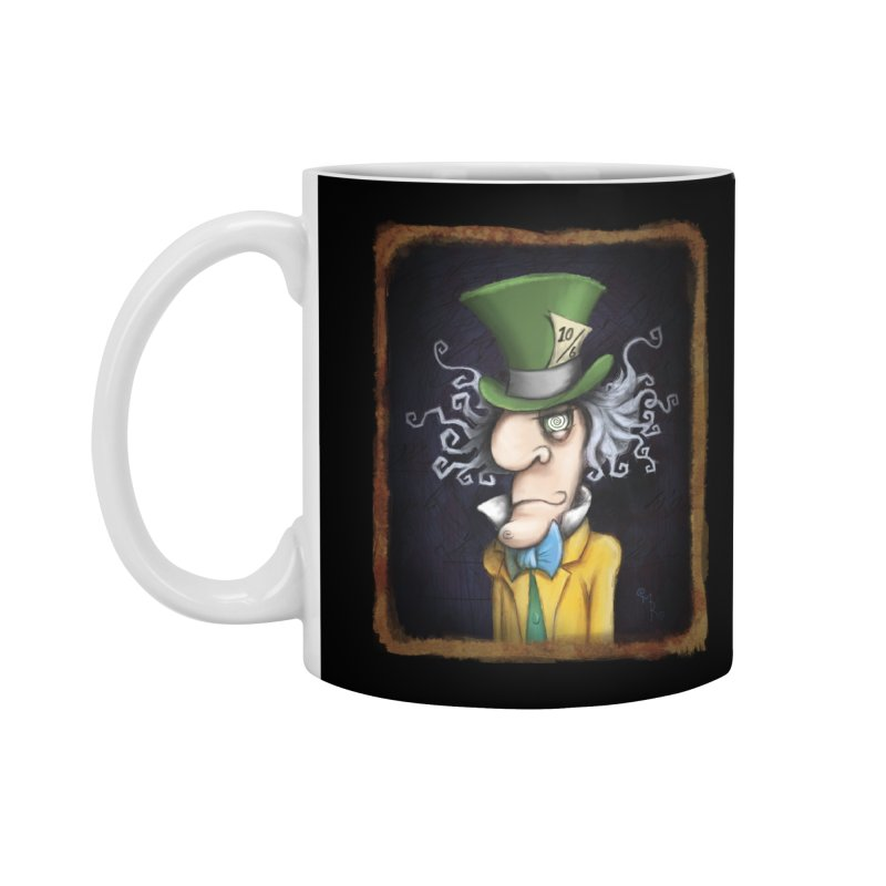we're all mad here! Accessories Standard Mug by the twisted world of godriguezart