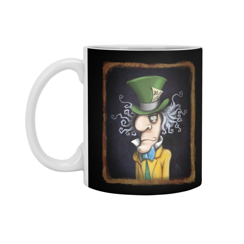 we're all mad here! Accessories Mug by the twisted world of godriguezart