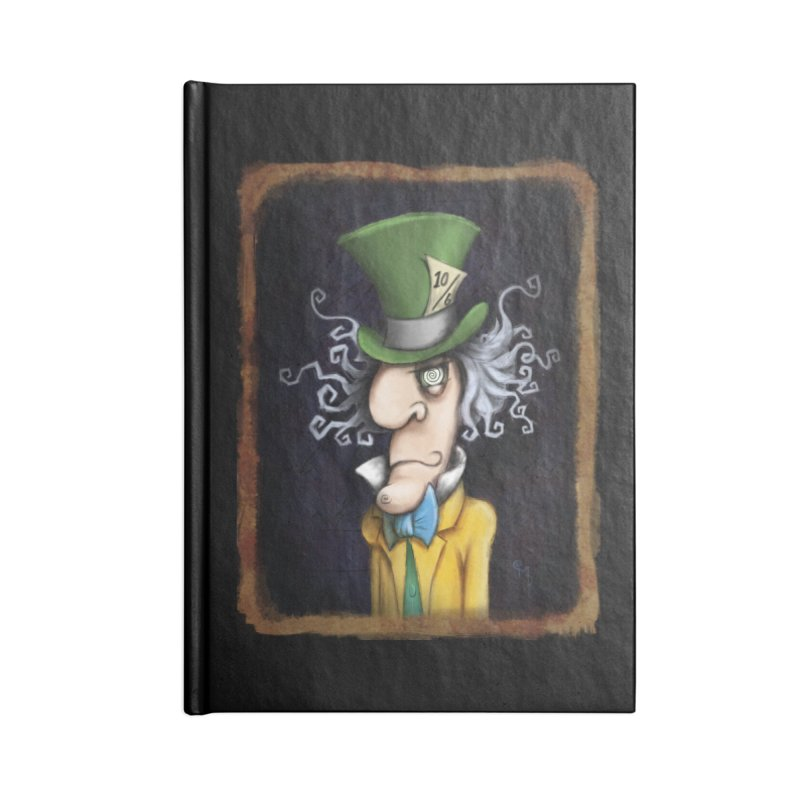 we're all mad here! Accessories Blank Journal Notebook by the twisted world of godriguezart