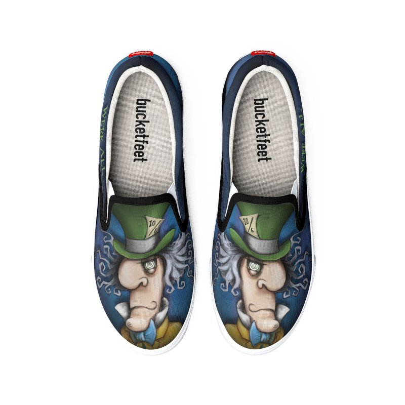 we're all mad here! Men's Shoes by the twisted world of godriguezart