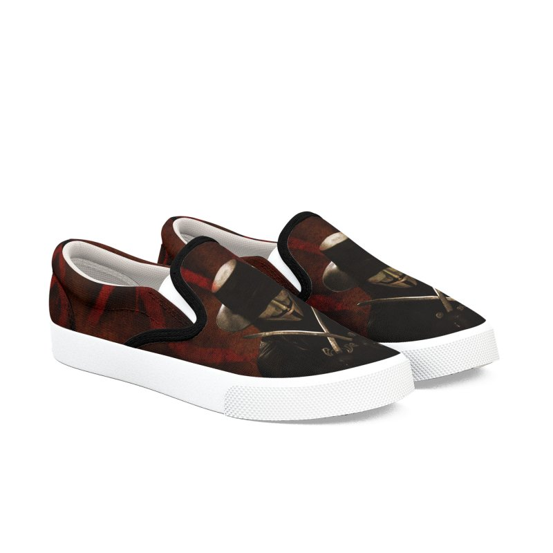remember, remember, the fifth of november Women's Slip-On Shoes by the twisted world of godriguezart