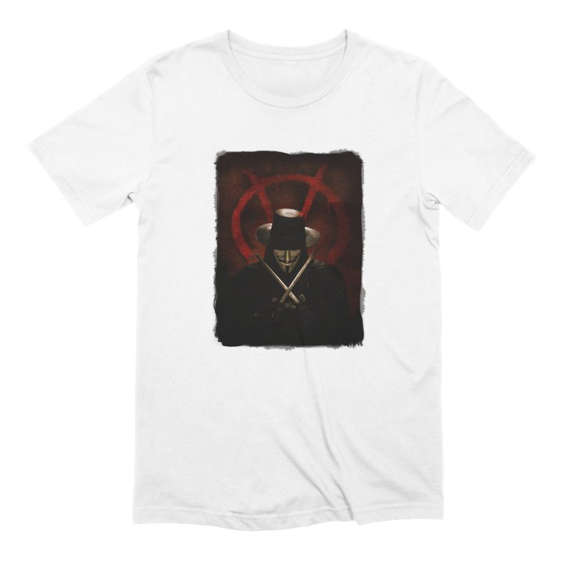 remember, remember, the fifth of november Men's Extra Soft T-Shirt by the twisted world of godriguezart