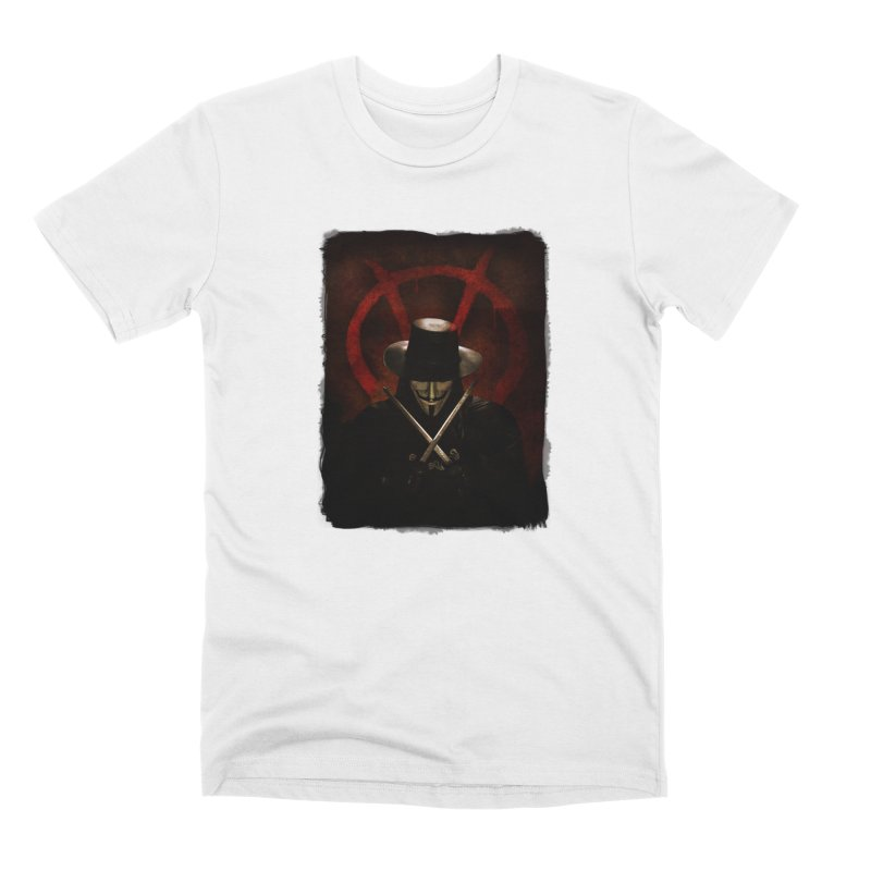 remember, remember, the fifth of november Men's Premium T-Shirt by the twisted world of godriguezart